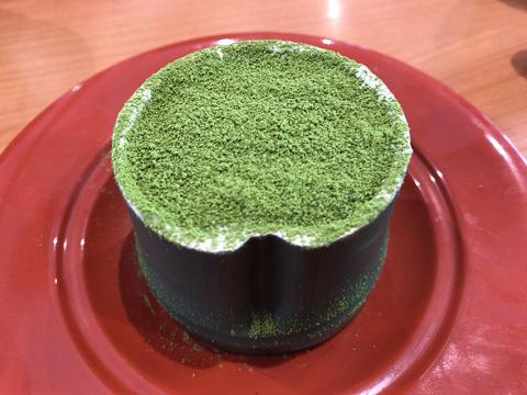 くら寿司の竹姫 抹茶ティラミス