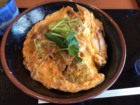 丸亀製麺のかつ丼