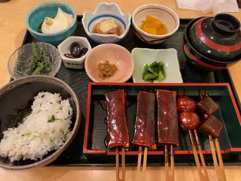 菜めし田楽定食