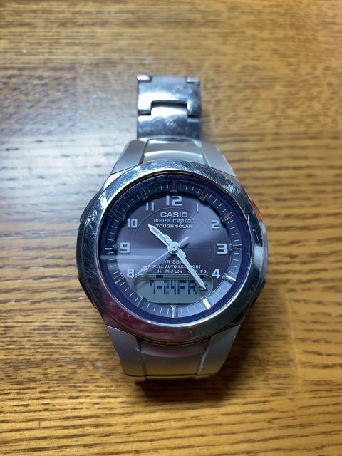 今使っている腕時計
