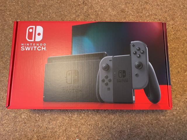 Nintendo Switch グレー