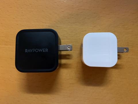 RAVPOWER RP-PC112との比較 横方向
