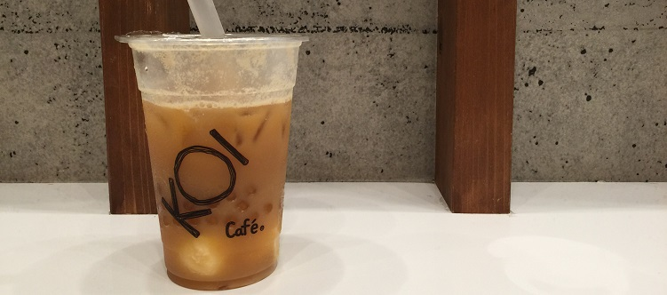 KOI Teaのアイスクリーム紅茶ラテはコレだ