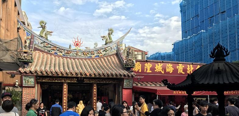 台北市ににある迪化街にあるお寺