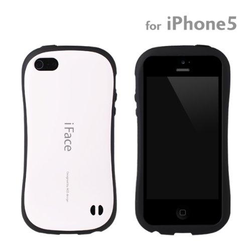 [SoftBank/au iPhone 5専用]iface First Classケース (ホワイト)