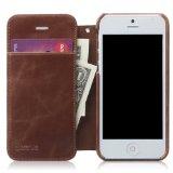 zenus iPhone5ケース Masstige Lettering Diary  ブラウン ダイアリータイプ Z1418i5