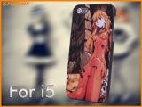 C509-0013 高級感 人気 Apple iPhone 5 アイフォン 5 ハードケース 新世紀エヴァンゲリオン 保護ケース +(無料iPhone保護フィルムが付属しております)