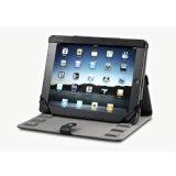 Acase 本革 ヴィンテージ レザーケース for new iPad / iPad 2 ブラック (スタンド機能・角度調整機能付)