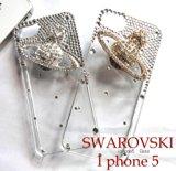輝くSwarovski Crysta♪iPhone5 カバー登場!半額以下!そしてさらにスワロフスキーたっぷりヴィヴィアン風