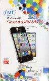 【セット販売 iphone5 ケース + 液晶保護フィルム】【メタル アルミ 金属質感 ケース 】人気商品 softbank au 兼用 アイフォン iphone iPhone5 iPhone5g ケース ブランド [brand case] 六色 (シルバー)