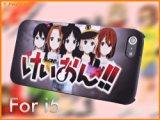 C507-0062 高級感 人気 Apple iPhone 5 アイフォン 5 ハードケース けいおん! / K-ON! 保護ケース +(無料iPhone保護フィルムが付属しております)