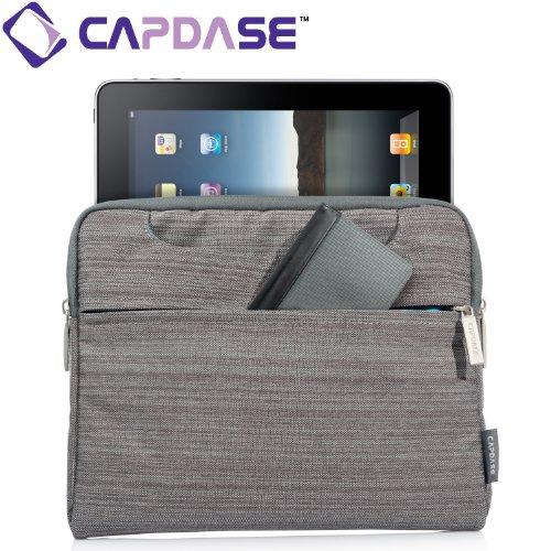 CAPDASE 日本正規品 mKeeper Sleeve Gento iPad Retinaディスプレイモデル (第4世代) / iPad (第3世代) / iPad 2 / iPad / au MOTOROLA XOOM 対応 Tab Device Universal Mobile Case, Grey タブレット汎用 モバイルケース, グレー MKAPIPAD-G10G