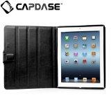 CAPDASE 日本正規品 iPad Retinaディスプレイモデル (第4世代) / iPad (第3世代) 対応 Protective Case Flip Jacket, Black 3段階スタンド機能つき ブックタイプ レザー調ケース 「フリップ・ジャケット」(ドックコネクタ &イヤホンジャック キャップ つき) ブラック FCAPIPAD3-PU01