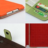 Zenus iPad mini ケース Masstige Color Point Folio ジャズグレー Z1583iPM