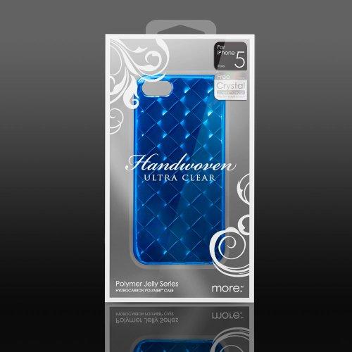 【正規品】 more. Handwoven Series for iPhone 5 Blue / ブルー AP20-003BLU