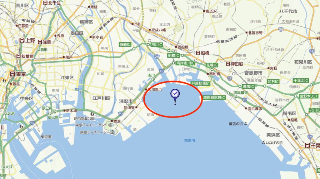 三番瀬の場所地図