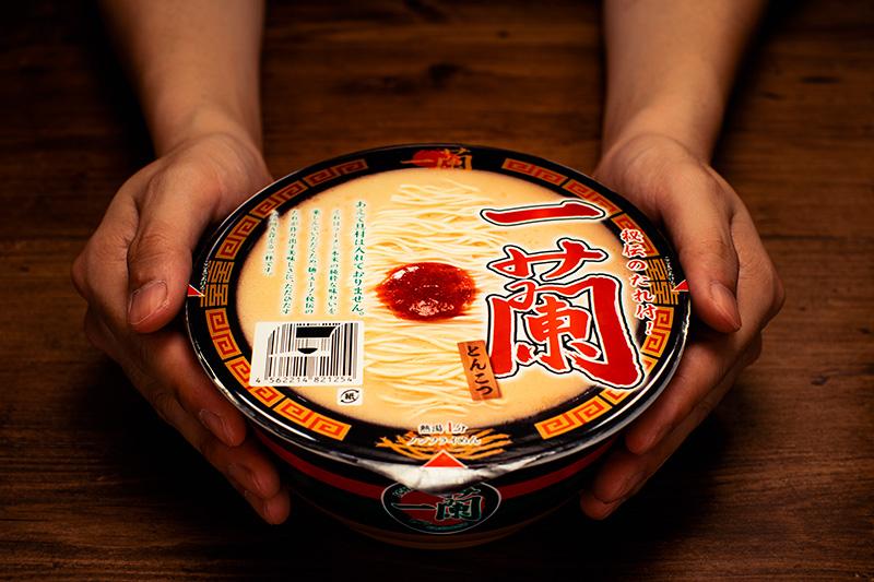 ラーメン一蘭のカップ麺