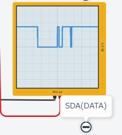 アドレス不一致SDA信号
