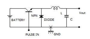 DCDCコンバーター原理図