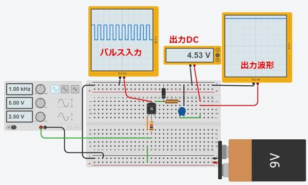 DCDC降圧コンバーターテスト