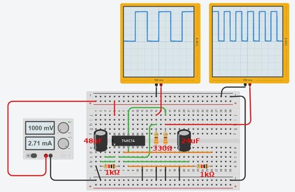 発振回路シミュレーション例