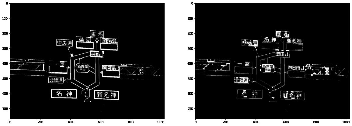"""""""トップハット、ブラックハット処理画像"""""""