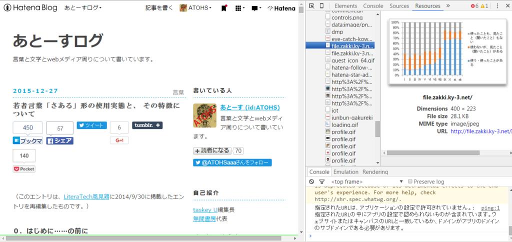 Chrome で開いたページの画像を一括ダウンロード …