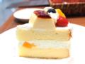 プリンフルーツケーキ02@GINZA Cozy Corner
