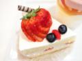 シェフの気まぐれショートケーキ03‐03@FOURSEASONS CAFE