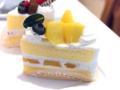 マンゴーのショートケーキ01@FOURSEASONS CAFE
