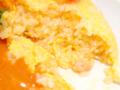 海老のトマトクリームソースのオムライス03@FOURSEASONS CAFE 2014年04月