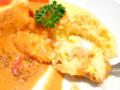 海老のトマトクリームソースのオムライス05@FOURSEASONS CAFE 2014年04月