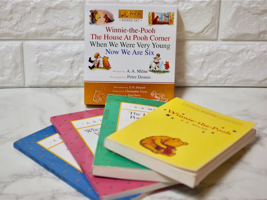 Winnie-the-Poohの本とDVD