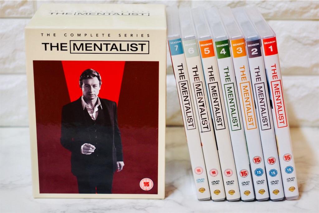 THE MENTALIST メンタリストの捜査ファイル DVD