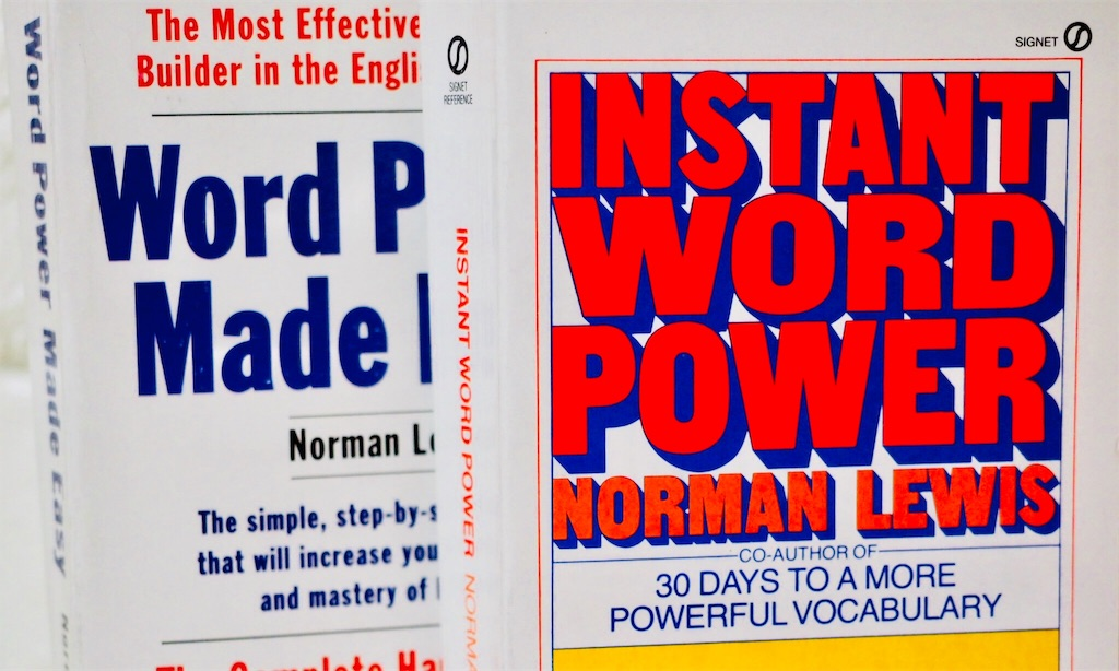『INSTANT WORD POWER』と『Word Power Made Easy』