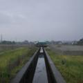 雨 撒水車