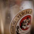 ビールのコップ
