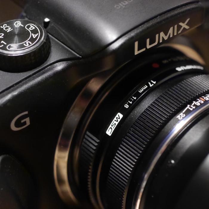 ルミックスG3 ズイコー17mm/F1.8