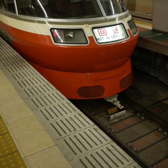 新宿駅 ロマンスカー LSE