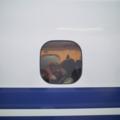 車窓の人 東京駅