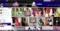 プラスチック服のメイドの女の子のコレクション
