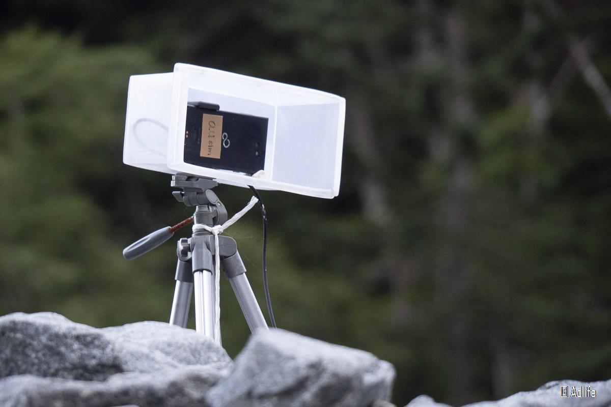 槍平小屋のライブカメラ