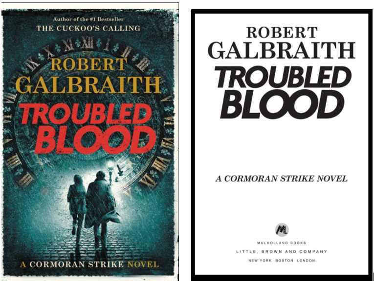 ロバート・ガルブレイスa.k.a J・K・ローリング『Troubled Blood』