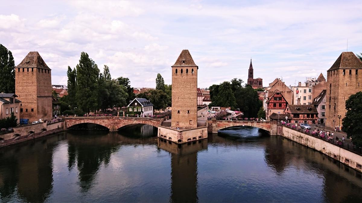 クヴェール橋 ストラスブール