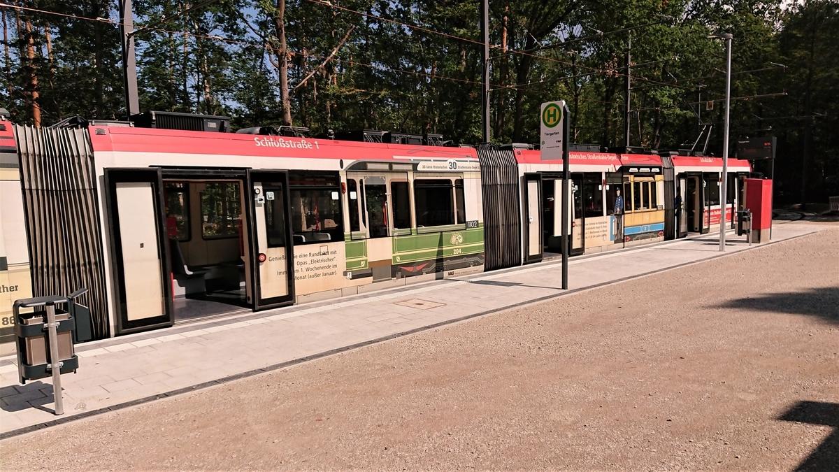 Tiergarten Nürnberg Tram