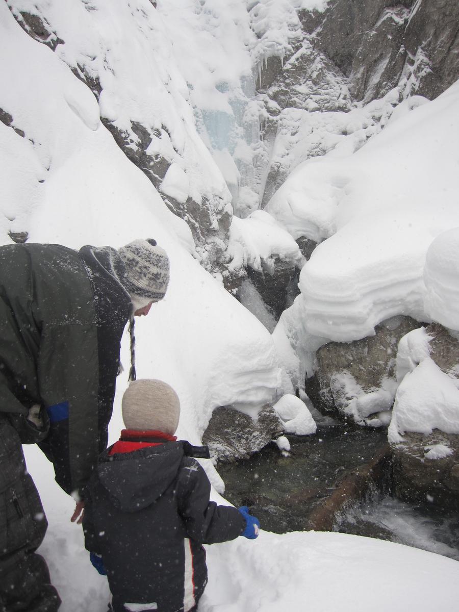 Davos ウインターハイキング