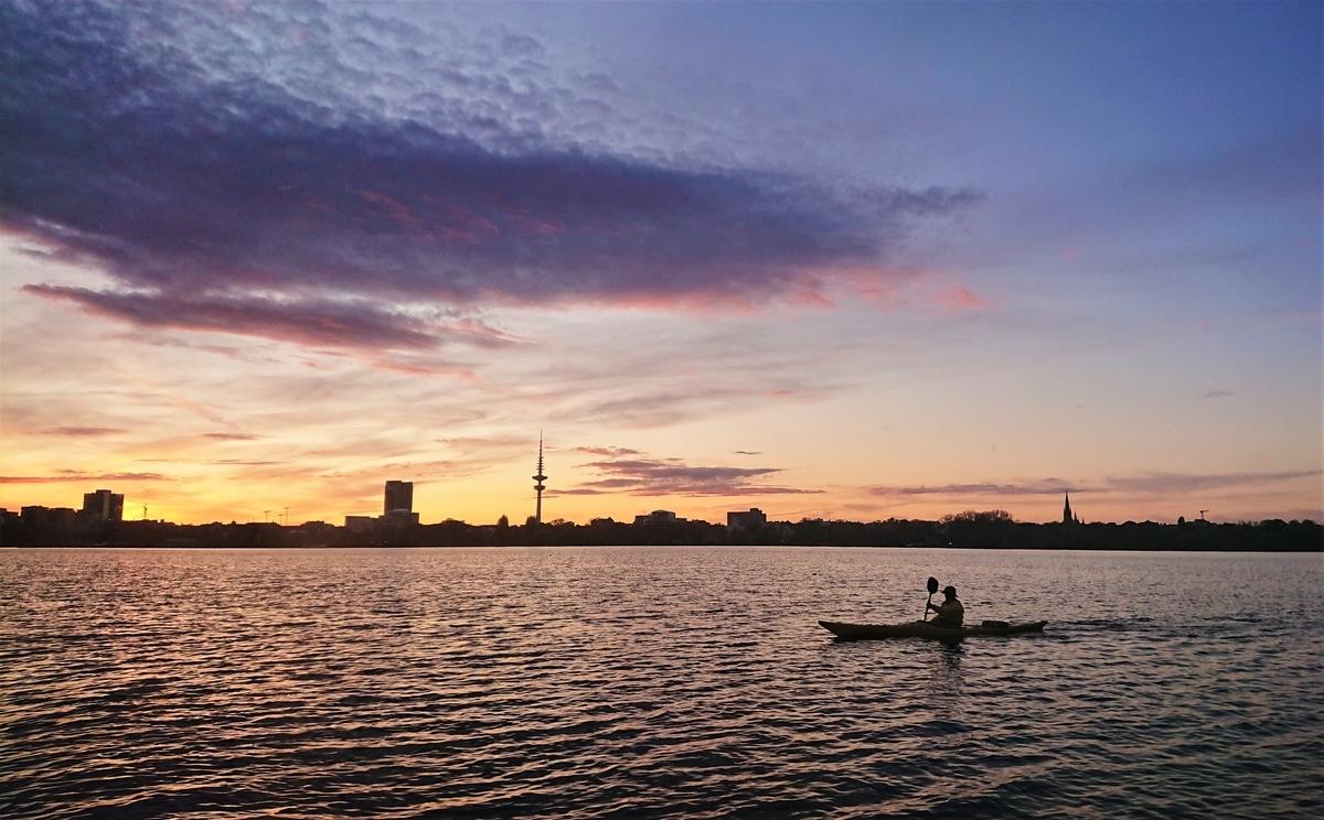 アルスター湖 ハンブルク
