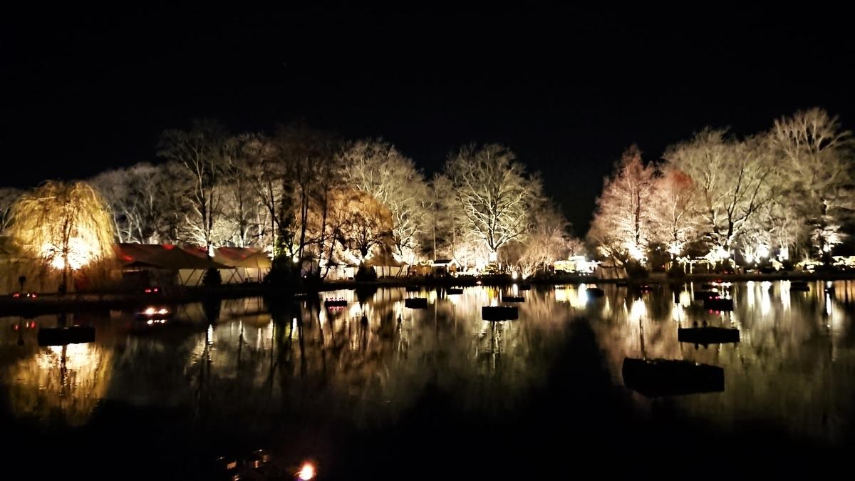 Phantastischer Lichter Weihnachtsmarkt