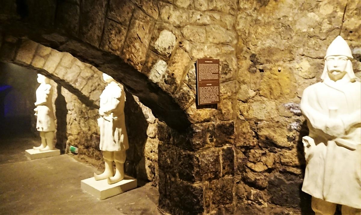 ブダペスト 地下迷宮