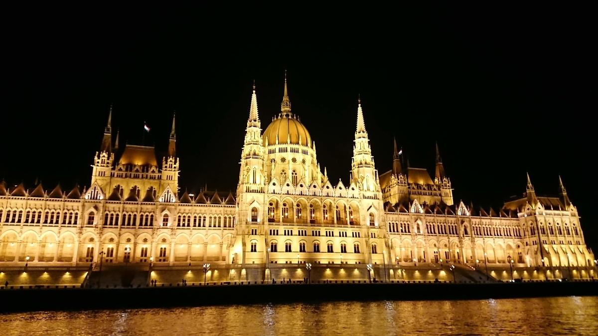 Budapest  国会議事堂